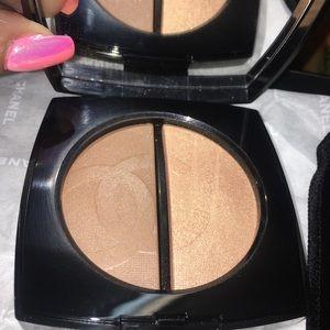 CHANEL Makeup - CHANEL Bronzer/Highlighter Duo In Medium 😻😻